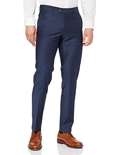 Daniel Hechter Herren Trousers NOS New Anzughose, Blau (Midnight Blue 690), 52