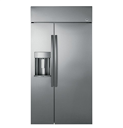 GE Profile PSB48YSKSS 48' built-in Side by Side Refrigerator in...