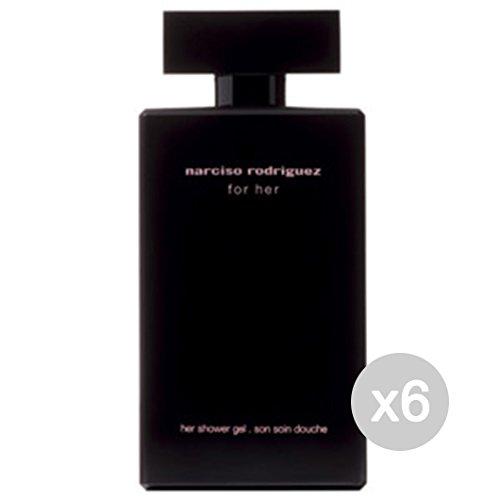 Preisvergleich Produktbild Set 6 Narciso Rodriguez For Her Duschgel 200 ml Produkte Bad