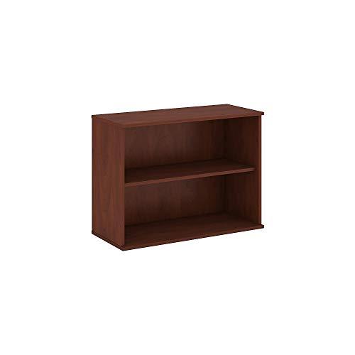 Homfa Bookshelf 70 in Height, Bookcase 6 Shelf Free Standing Display Storage Shelves Standard Organization Collection Decor Furniture for Living Room Home Office, Dark Oak