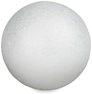 Craft Foam Ball - Smooth Styrofoam Polystyrene Balls for Craft and Project (5
