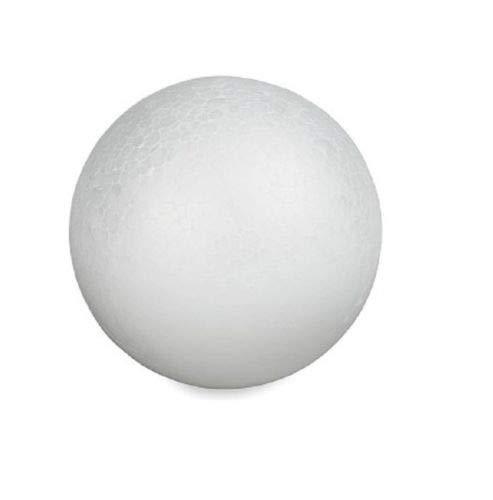 Craft Foam Ball - Smooth Styrofoam Polystyrene Balls for Craft and Project (5 - 12 Balls)