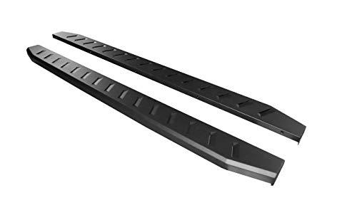 Ziruiautopart Compatible for 2009-2018 Dodge Ram 1500 Quad Cab (Incl 2019 Ram 1500 Classic) Rocker Panel Mount 6 inch Black Heavy Duty Nerf Bars Running Boards Side Steps Rails