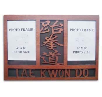 Playwell Houten TKD Dubbele fotolijst Display - (tem: 08440)