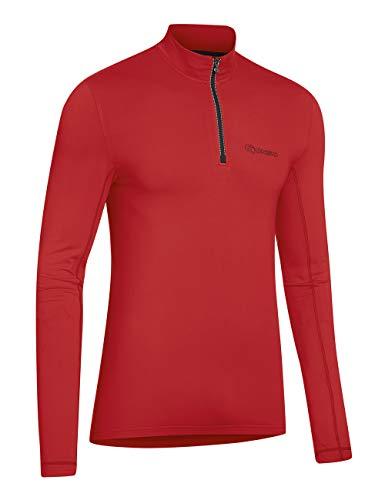 Gonso Erwachsene Christian Bike Active Shirt Men, high Risk red, S