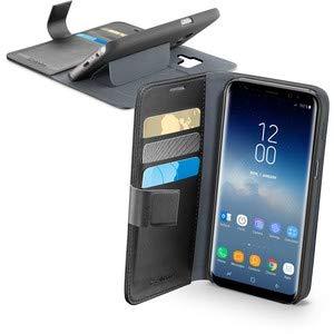 Cellularline Book Agenda Schutzhülle für Handy, 14,7 cm (5,8 Zoll), Schwarz