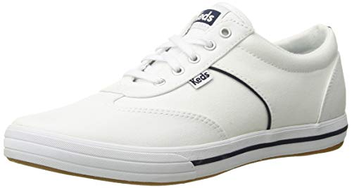 Keds Women's COURTY CORE Canvas Sneaker, White, 8.5