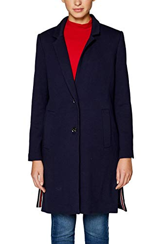 Esprit 128ee1g028 Abrigo, Azul (Navy 400), X-Large para Mujer