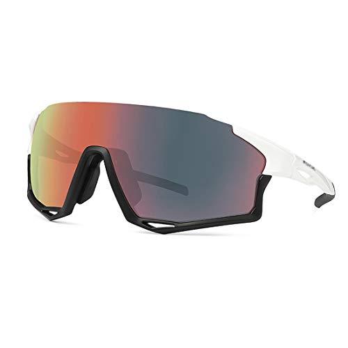 AP.DISHU Gafas Polarizadas para Correr Golf Motocicleta TAC Gafas De Sol Deportivas UV400 Bicicleta De Pesca De Béisbol Juvenil para Hombres Y Mujeres,Marco Ultraligero TR90,B