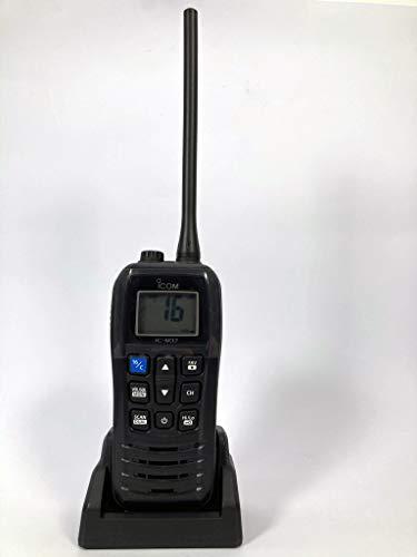 ICOM IC-M37 RICETRASMETTITORE VHF NAUTICO 6 WATT DI POTENZA RF, GALLEGGIANTE CON...