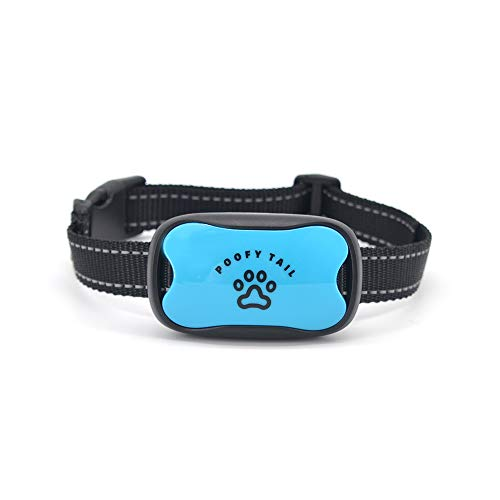 No Shock Anti Bark Collar for Dogs–Stop Barking Using a Humane and 100% Safe Device That has Seven Adjustable Sound and Vibration Levels-Works on All Breeds Small, Medium, Large(11-120 LBS) (Blue)