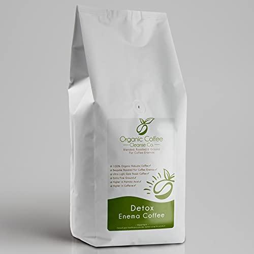 Enema Coffee, Blended, Roast & Ground Specially for Coffee Enemas, Organic...