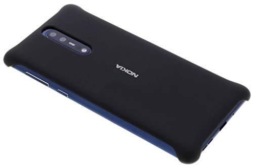 Original Nokia 1A21PR400VA Soft Touch Schutzhülle CC-801 für 8 Schwarz
