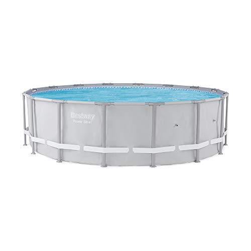 """Bestway 13429 Power Steel Swimming Pool, 16' x 48"""""""