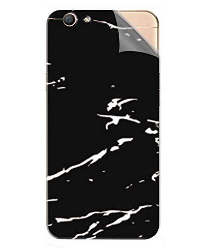 Snooky Mobile Skin Sticker Black Marble Black for Oppo F1s