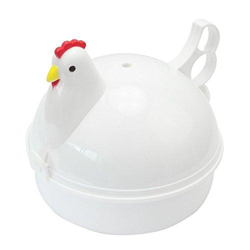 SODIAL(R) Huevera Cocedor 4 Huevo para Microondas en Forma de ...