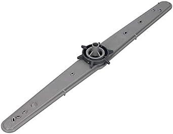 brazo de pulverización lavavajillas gris para Beko Blomberg 1746200600 Brandt Fagor 32X4259