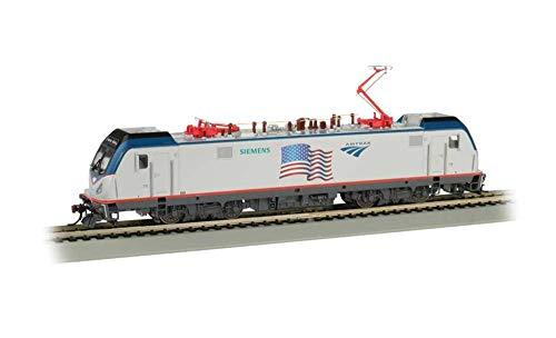 Bachmann Trains 67404 Siemens ACS-64 DCC Sound Equipped Locomotive - Amtrak - Flag Demo - HO Scale, Prototypical Colors