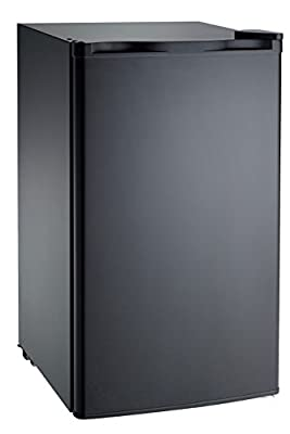 RCA FBA Black RFR321 Mini Refrigerator, 3.2 Cu Ft Fridge, CU.FT