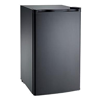 RCA RFR321-FR320/8 IGLOO Mini Refrigerator, 3.2 Cu Ft Fridge, Black
