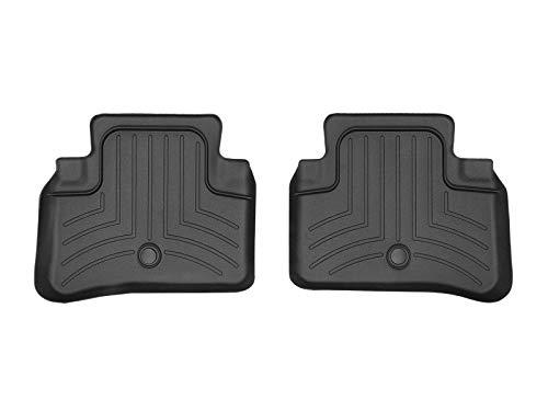 WeatherTech Custom Fit Rear FloorLiner for Mercedes-Benz E63/E350/E550 (Black)