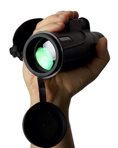 Authentic Roxant Falcon High Definition (One Finger Focus) Monocular + Phone Adapter, Mini Tripod, Case & Lens Caps