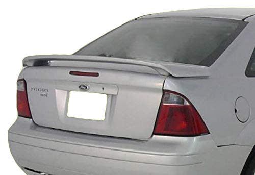 Accent Spoilers - Spoiler for a Ford Focus 4-Door Factory Style Spoiler-Blue Pearl Metallic Paint Code: S1