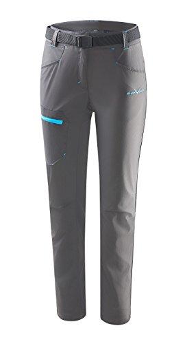 Black Crevice 44 Pantalon de randonnée pour Femme Anthracite Taille 42