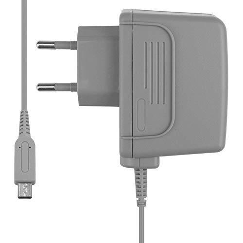 Chargeur pour Nintendo New 3DS / 3DS XL / 2DS / DSi / DSi XL Adaptateur secteur Hobby Concept pour Console Nintendo Gris