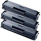 MLT-D111S Kit 3 Toner compatibili per Samsung Xpress M2022 Xpress M2022 M2026 M2022W M2070 M2020 M2070F M2070FW M2070W chip con firmware aggiornato