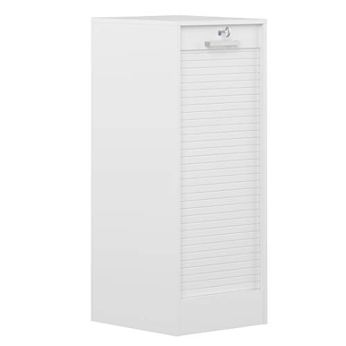 Classeur à rideaux-Blanc-106 cm/7143A2121R91