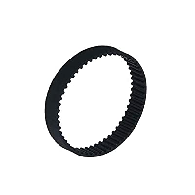 Xuulan Xianglaa-timing belt 1pcs GT2 Closed Loop Timing Belt, Rubber 2GT 6mm 3D Printers Parts, Synchronous Belts Part Machinery Parts (Length : Length 110mm, Width : Width 6mm)