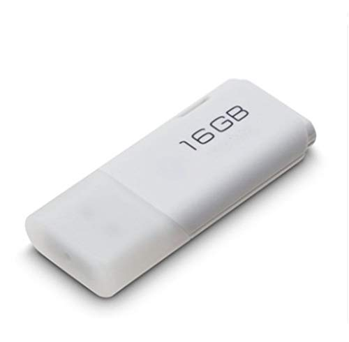 USB 2.0 Flash Drive 64GB 32GB 16GB Pen Drive Mini Memory Stick Pendrive U Scheibe USB-Sticks (4G,White)