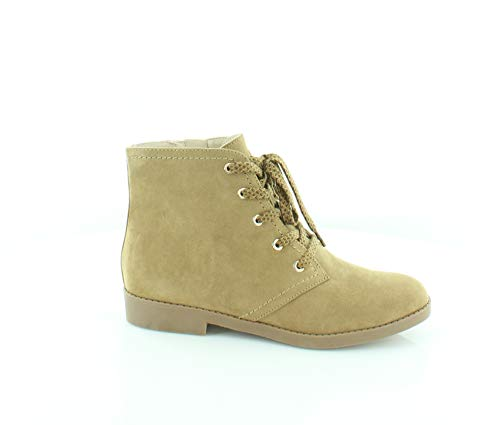 Indigo Rd. Womens Abelly2 Almond Toe Ankle Fashion Boots, Tan 2, Size 6.5