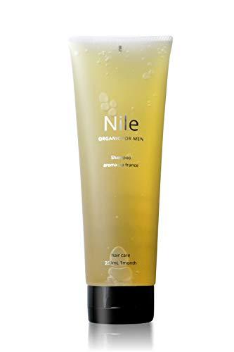 Nile 超濃密泡シャンプー メンズ レディース 濃厚ジェル アミノ酸 スカルプケア (250mⅬ)