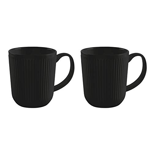 Bodum 11814-259 DOURO 2 Stk. Kaffeetasse 0.35 l, Porzellan