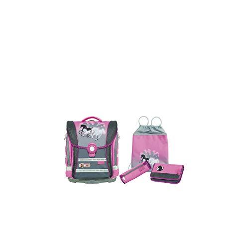 Schultaschen-Set McNeill ERGO Light Compact Flex, 4-tlg., Spirit