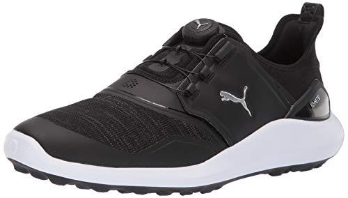 Puma Golf Men's Ignite Nxt Disc Athletic Shoe, puma Black-puma Silver-puma White, 10 M US
