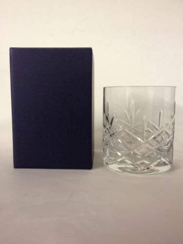 Crystal of Distinction handgeschliffene Kristall Whisky Glas in Geschenkbox