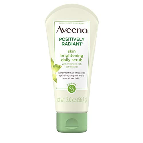 Aveeno Positively Radiant Skin Brightening Exfoliating Daily Facial Scrub ,2.0 oz $2.99  at…