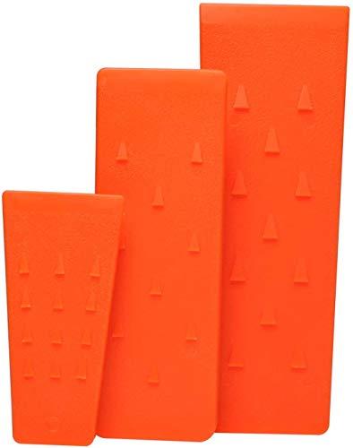 Cuñas de Tala para Motosierra 14cm 20cm 25cm, Cuña de Corte de Árbol de Plástico ABS por Poweka