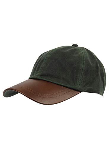 Gorra de béisbol de Nicky Adams Countrywear para hombre, de algodón encerado,...