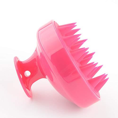 DBSUFV Cepillo de champú de Silicona Suave para peluquería, Cepillo de champú para Masaje en el hogar, Peine de baño para Cuero cabelludo Limpio, Herramientas de peluquería