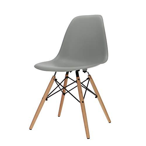 Popfurniture Designer Stuhl | viele Farben, robust, leichter Aufbau | Ideale Esszimmerstühle, Stühle Esszimmer, Esstisch Chair, Küchenstühle, Essstühle, Esszimmerstuhl, Schalenstuhl, Küchenstuhl