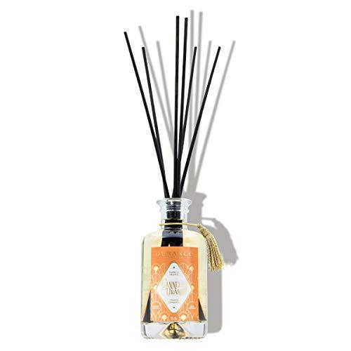 Durance - Difusor de aroma de canela, color naranja