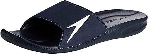 Speedo Atami II, Herren Dusch- & Badeschuhe , Blau - Blau (Marineblau/Weiß), 43 EU (9 UK)
