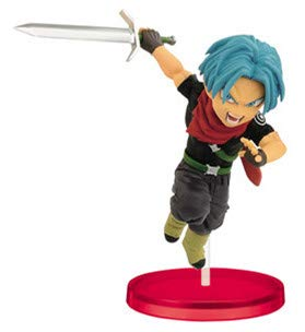 DB Dragon Ball Super Heroes World collectable Figura Vol.4 WCF Cumber Burdock Vegetto Trunks Goku Figure (Trunks)