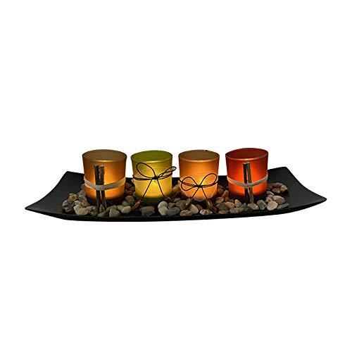 Candelabro de decoración de cristal de vela, regalo para mujeres y niñas, ideal para bodas, vacaciones, fiestas, decoración del hogar