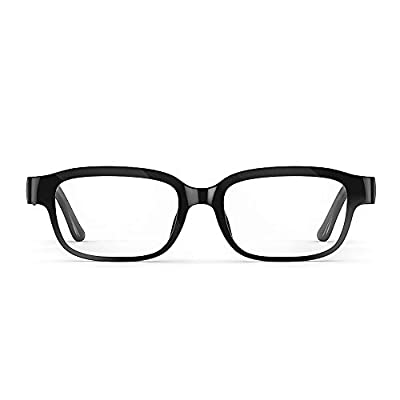 All-new Echo Frames (2nd Gen) | Smart glasses with open-ear audio and Alexa | Classic Black