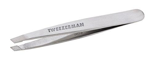 TWEEZERMAN Studio Collection Mini Slant pincet, per stuk verpakt (1 x 1 stuks) roestvrij staal